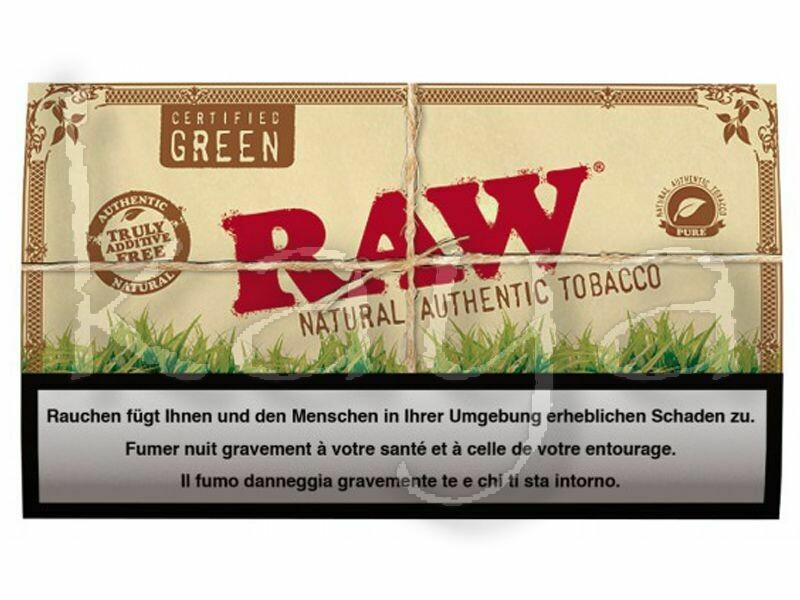 Raw - Natural authentic tobacco