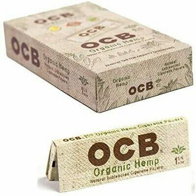 OCB - Organic hemp 1 1/4 size ( court )