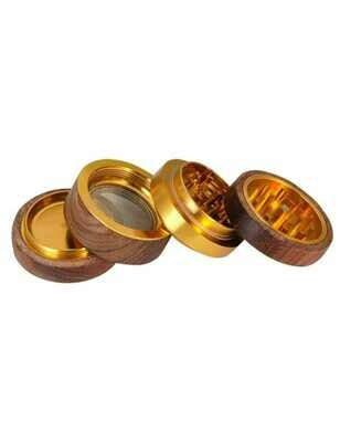 Champ High - Grinder wood gold