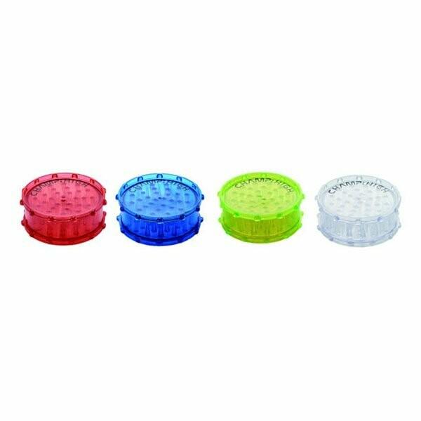 Champ High - Plastic colorful grinder blue