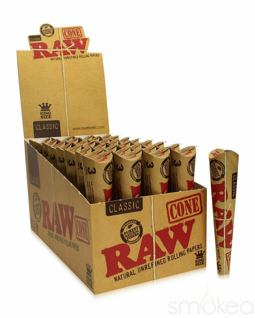 Raw - Classic king size 3 pack