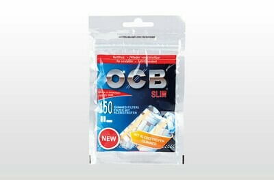 OCB - Filtres avec gomme arabic slim
