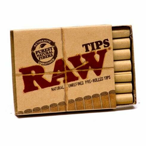 Raw - Authentic pre-rolled tips 21 tips