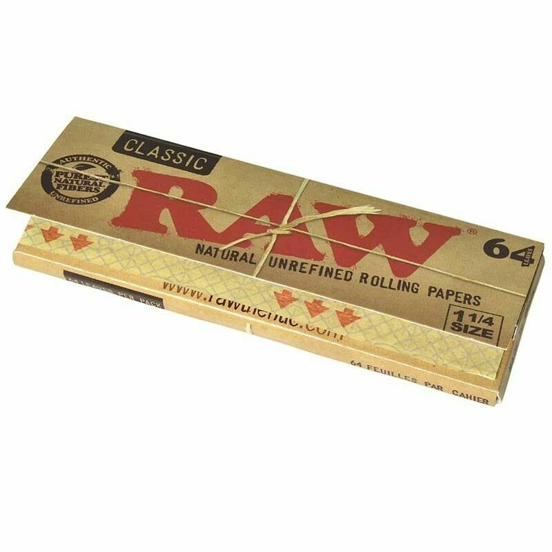 Raw - Classic 1 1/4 size 64 leaves