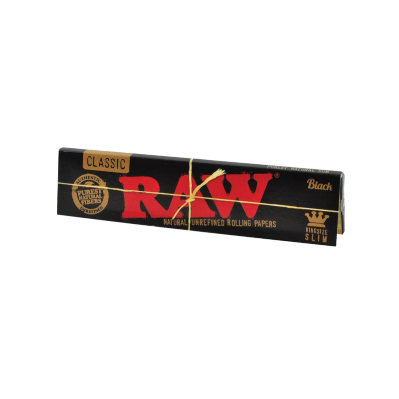 Raw - Classic black king size slim