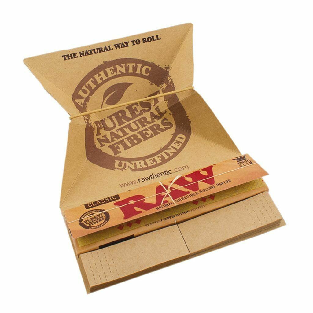 Raw - Artesano king size slim tray paper tips