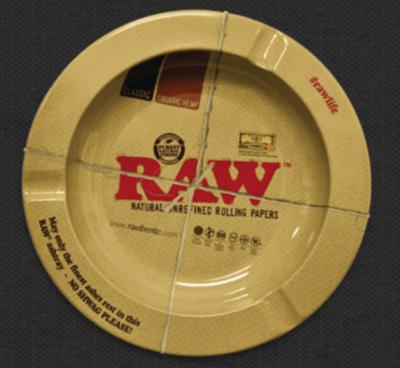 Raw - Metal ashtray