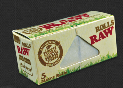 Raw - Organic hemp rolls king size slim 5 meter