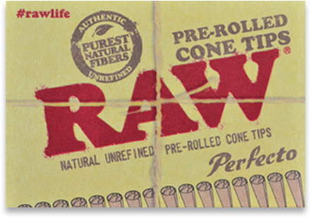 Raw - Perfecto pre-rolled cone tips