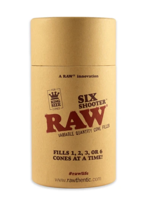 Raw - Six shooter variable quantity cone filler