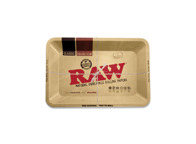 Raw - Steel rolling tray Small