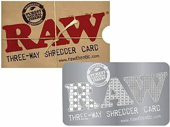 Raw - Three-way shredder card