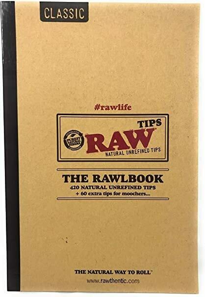 Raw - Classic the rawlbook ( 480 filtres cartons préperforés )