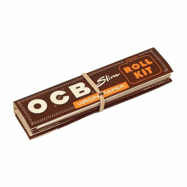 OCB - Virgin paper king size slim roll kit EXCLUSIVITÉ !!!