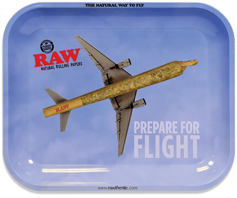Raw - Flying high tray large