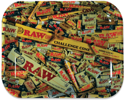 Raw - Mix products rolling tray Medium