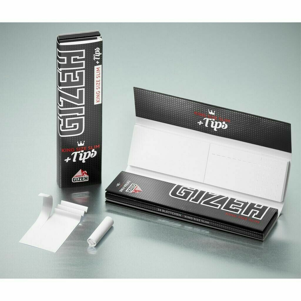 Gizeh - King size slim + tips