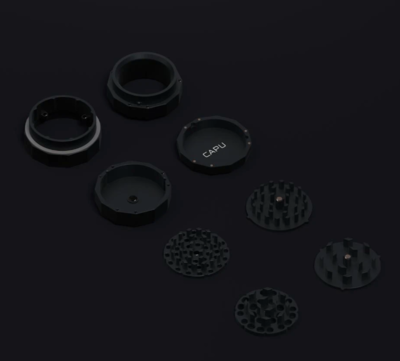 Capu -  Grinder blacked-out edition