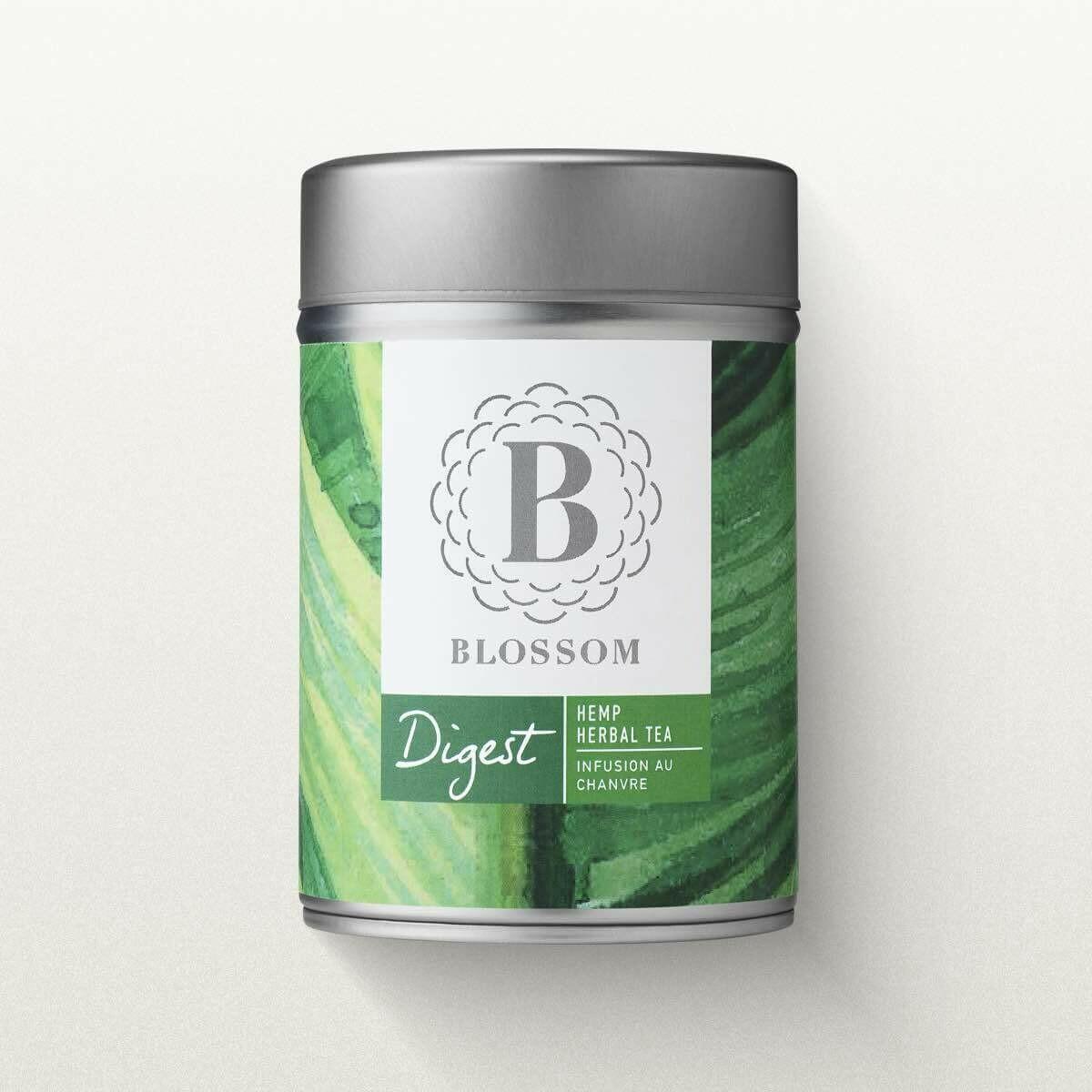 "Blossom - Organic Herbal Tea ""Digest"""