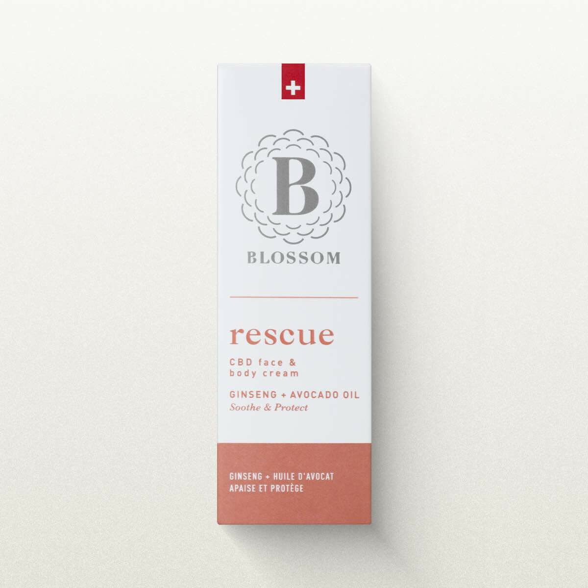 Blossom - Rescue face & body cream CBD