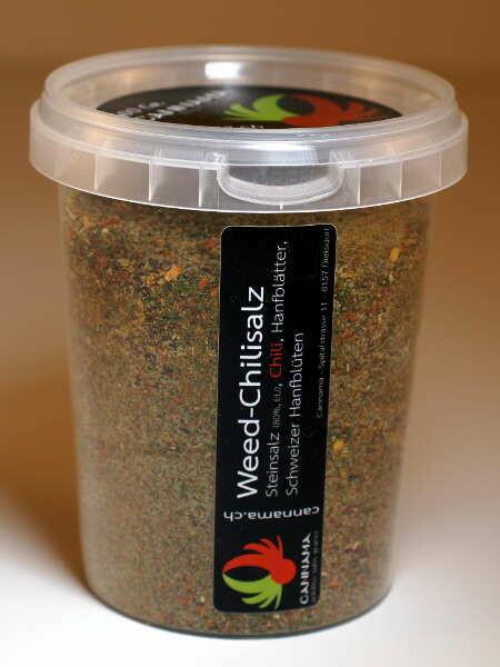 Cannama - Sel de piments de chanvre