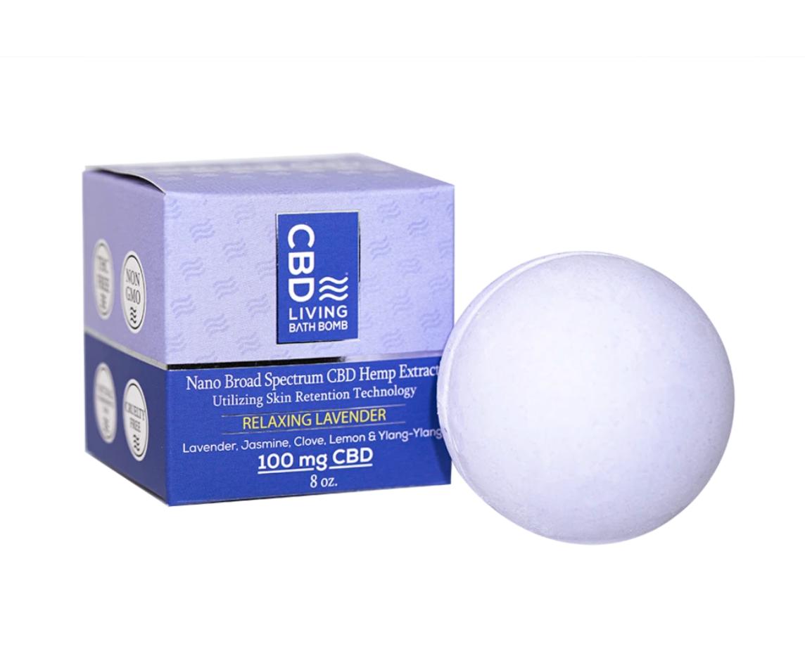 CBD Living - Bath Bomb Lavender