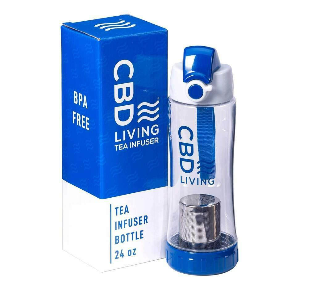 CBD Living - Tea infuser bottle