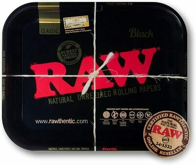 Raw - Black tray small
