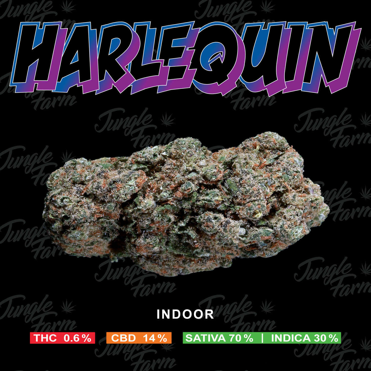 JUNGLE FARM -  HARLEQUIN 5gr