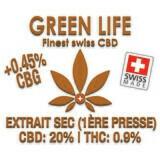 GREEN LIFE - EXTRAIT SEC 1ERE PRESSE 5gr