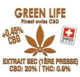 GREEN LIFE - EXTRAIT SEC 1ERE PRESSE 10gr