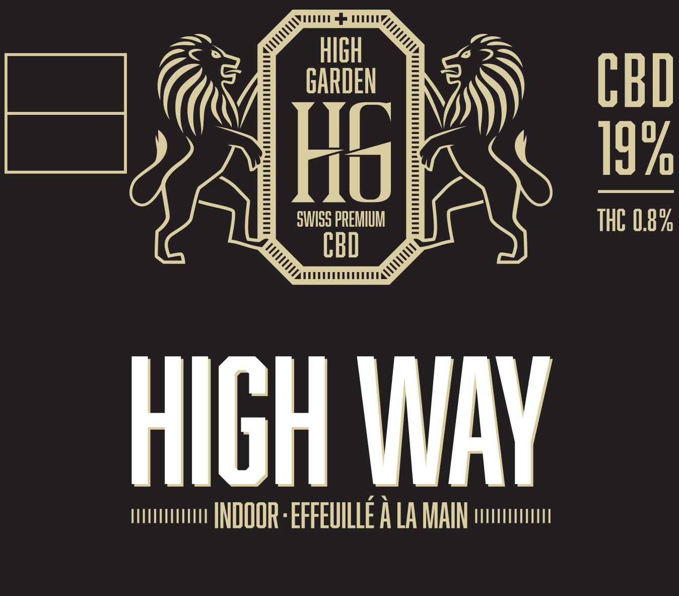 HIGH GARDEN - HIGH WAY 14.3Gr