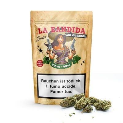 SWISS BOTANIC - BANDIDA 40gr