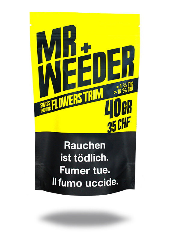 MR.WEEDER - FLOWERS TRIM 40gr
