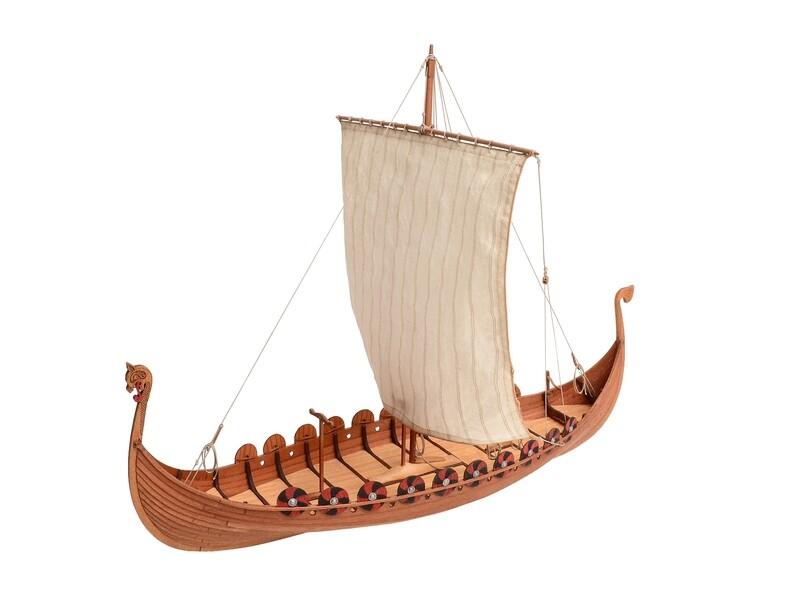 Viking ship of IX-XI century 1:72
