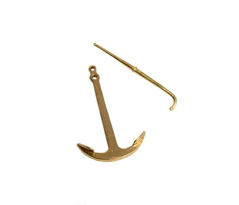 Anchor with rod 25mm bronze