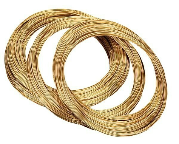 Hard brass wire 0.4 mm