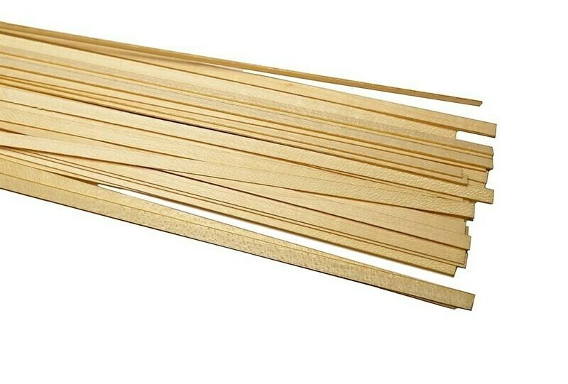 Maple slats, thickness 0.5mm 50pcs