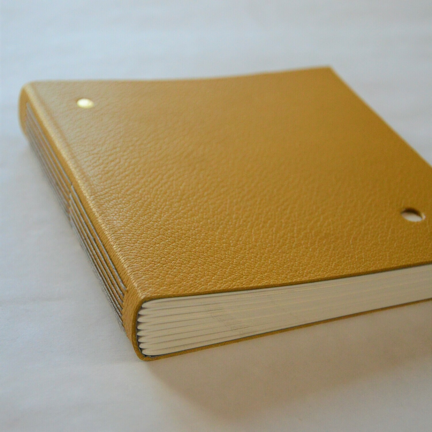 Leather Journal Mellow Yellow