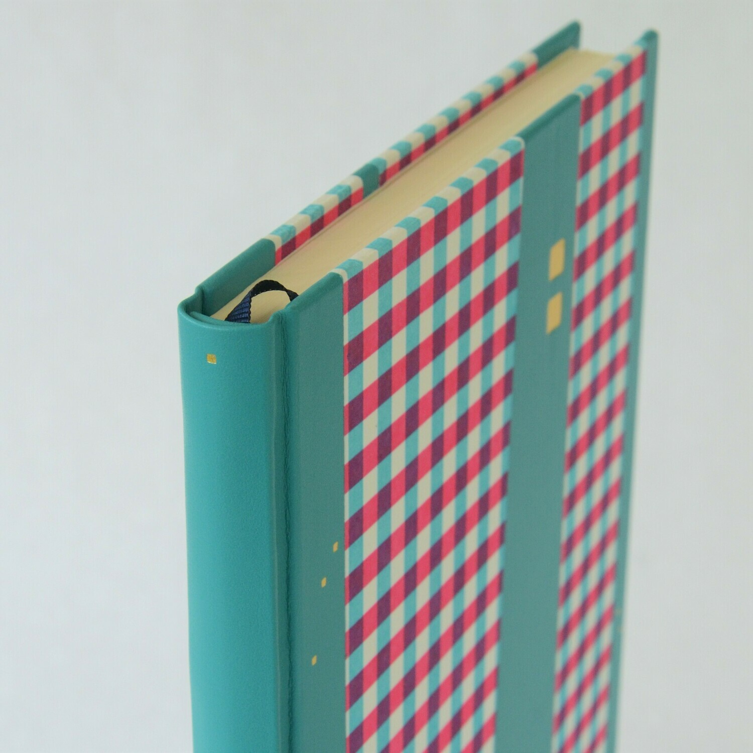 Gingham and Leather Sketchbook