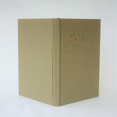 Green Ditsy Sketchbook