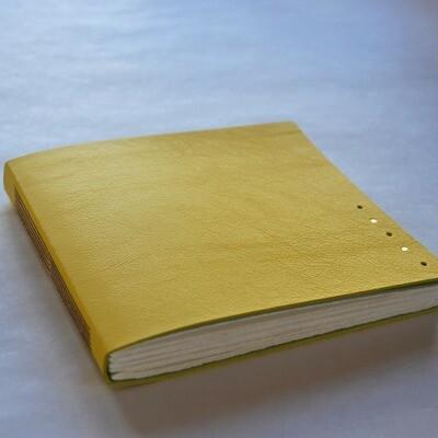 Watercolour Sketchbook Yellow