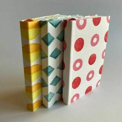 Rose Spotty Sketchbook - Cotton Rag