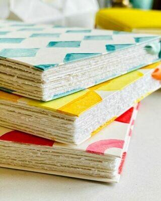 Sea Green Sketchbook - Cotton Rag