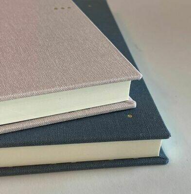 Grey Hardback Notebook