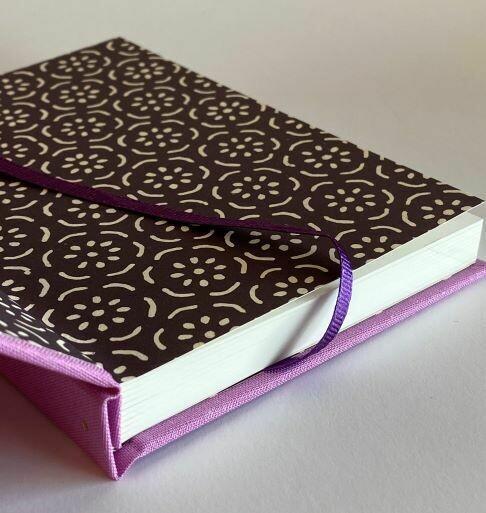 Dusky Pink Hardback Notebook