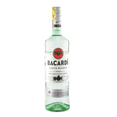 Ron Bacardí Carta Blanca 375ml
