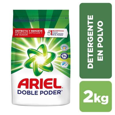 Detergente en Polvo Doble Poder