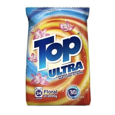 Detergente en Polvo Floral