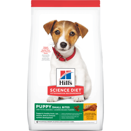 Puppy Small Bites Chicken & Barley Recipe Dog Food